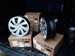 Rodas Originais Toyota Etios - Aro 14 - 0 km - Barbada!