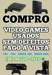 Compro Video Games Usados Pago a Vista