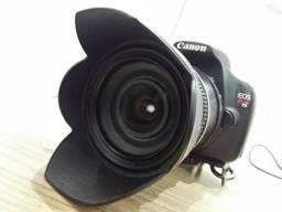Camera canon t5 lente 17-50 2.8 tamron