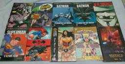 Quadrinhos Encadernados HQ Novos Gibi Batman Superman Star Wars V de Vingança Panini