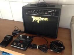 Guitarra Tagima + Amplificador Tagima + Pedal Waldman