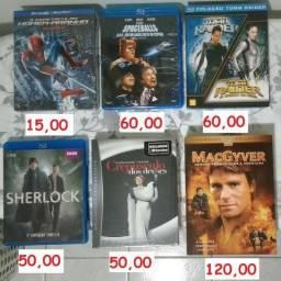 Blu-ray DVD Filmes Séries Originais Coleção Vários
