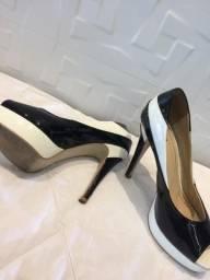 Sapato Peep Toe 39 Ávida