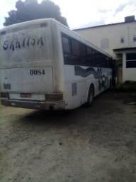 Ônibus o371 turbinado, troco por ônibus motor dianteiro - 1991