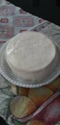 Queijo branco de 1klg fresquinho da fazenda