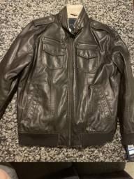 Jaqueta de couro legítimo TOMMY