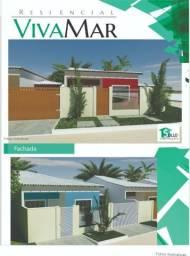 Casa 62m² 2 quartos (1 suíte) Quadra da Praia, Cabo Frio, Loteamento VivaMar e Orla 500!