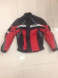 Jaqueta para moto com proteção