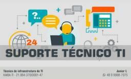 Suporte Técnico TI - Técnico Infraestrutura - Técnico Informática