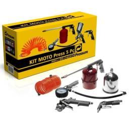 Kit Moto Press com 5 Peças - Pressure