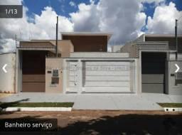 Vila Bandeirante Casa Nova com 3 quartos e Area Gourmet