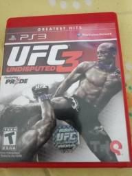 Vendo ou troco UFC 3 undisputed ps3, usado comprar usado  São Paulo