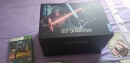 Xbox 360 desbloqueado com 16jogos e doi controles + jedi challenges