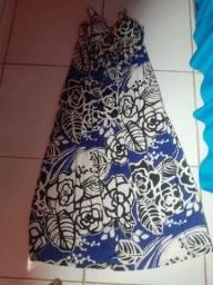 Vendo vestido azul lindo com bojo
