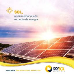 Usina de Energia Solar Instalada