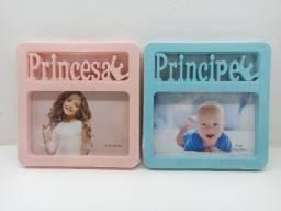 Porta Retrato De Mesa Recém Nascido Bebê Príncipe Princesa