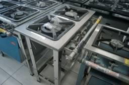 Metalmaq - Fogão Sem forno 2 Bocas - Pronta Entrega - Sibéria Equipamentos
