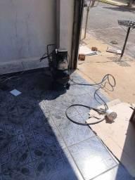 Troco compressor de ar com computador