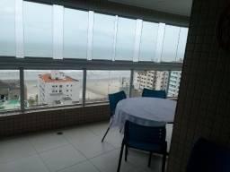 Apartamento temporada 3Quartos/5wc na Praia Grande em frente ao mar