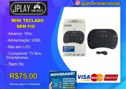 Mini teclado com mouse sem fio para Tv box, Pc e Notebook