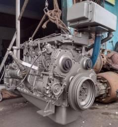 Título do anúncio: Motor mwm 6 cilindros série 10, MARÍTIMO e todo stander.