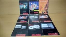 Título do anúncio: Manual Snes Original Super Nintendo