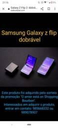 Samsung Z Flip Mirror Black Novo na Caixa