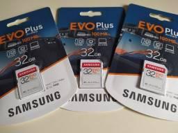 Título do anúncio: Cartão SD Samsung Evo Plus 32GB /100mb -Original
