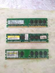 Placa de memória DDR2 1 GB