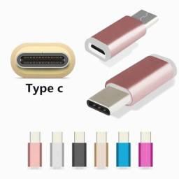 Adaptador Plug Micro Usb V8 P/ Tipo C - Tablet Celular