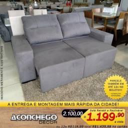 Título do anúncio: Sofá Retrátil e Reclinável Promoção!!!