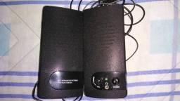 Título do anúncio: Caixa de som para PC (usada, mas bem conservada)