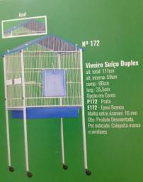Título do anúncio: Viveiro  Suíço Duplex ( desmontável) PRATA