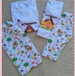 Título do anúncio: Kit pijama Tal mãe Tal filha