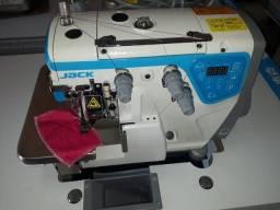 overlock eletronica com corte de linha Jack C3 nova