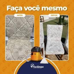 Título do anúncio: Aluguel de máquina extratora para limpeza e higienização de cadeiras estofadas Facilimpa