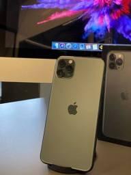 Título do anúncio: iPhone, 11 Pro Max, Verde Militar, 64gb (semi-novo) LOJA FÍSICA NEXTECH