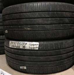 Par de pneus 19 Sportage 245/45 R19 Bridgestone +80%