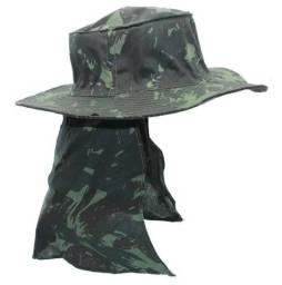 Título do anúncio: Chapéu Caqui Com Proteção De Pescoço Australiano