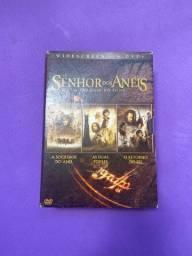 Trilogia Senhor dos Anéis em DVD