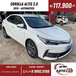 Título do anúncio: Toyota Corolla altis 2.0 2019!!30 mil km