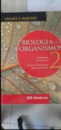 Livros Amabis e Martho (biologia) usados