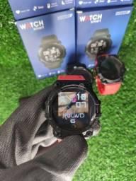 Título do anúncio: smartwatch FD68s coloca foto e muito mais
