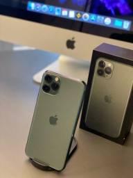 Título do anúncio: iPhone, 11 Pro, Verde Militar, 64gb (semi-novo) LOJA FÍSICA NEXTECH