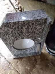 Pia banheiro, mármore