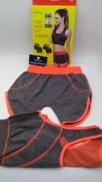 Kit short blusa Pilates academia//entrega grátis hoje