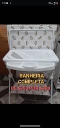 Título do anúncio: Banheira para bebê
