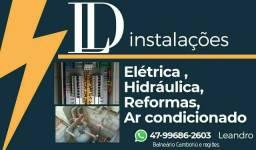 Elétrica e hidráulica