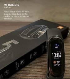 Relógio Mi Band 5 Xiaomi Novo Original