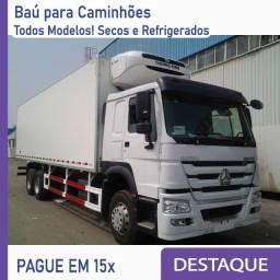 Título do anúncio: Baú Refrigerado e Baú Seco p/ Caminhão novo/seminovo Modelo: IJ 208